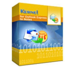 Kernel for Outlook Express to Notes - Home License Coupons
