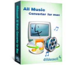 4Videosoft All Music Converter for Mac Coupons
