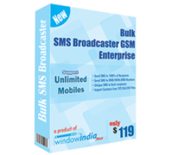 Bulk SMS Broadcaster GSM Enterprise Coupons