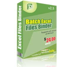Batch Excel Files Binder Coupons