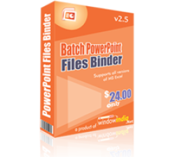 Batch PowerPoint Files Binder Coupons