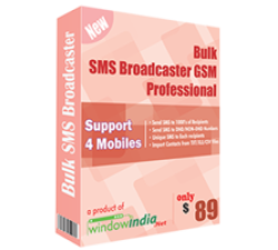 Bulk SMS Broadcaster GSM Professional Coupons