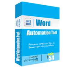 Word Automation Tool Coupons