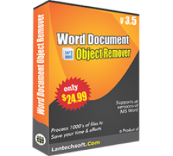Word Document Object Remover Coupons