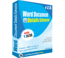 Word Document Details Extractor Coupons