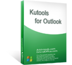 Kutools for Outlook Coupons