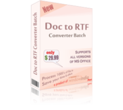 Doc to RTF Converter Batch Coupons
