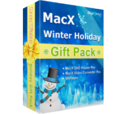 MacX Winter Holiday Gift Pack (for Windows) Coupons