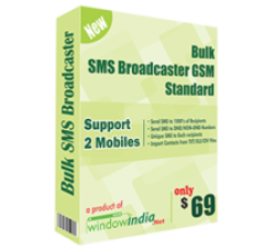 Bulk SMS Broadcaster GSM Standard Coupons