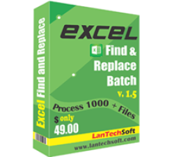 Excel Find & Replace Batch Coupons