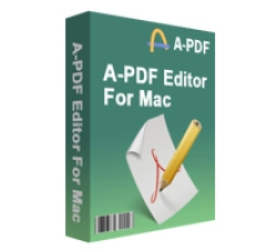 A-PDF Editor for Mac Coupons