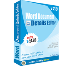Word Document Details Editor Coupons