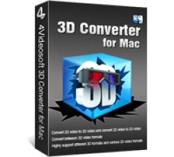 4Videosoft 3D Converter for Mac Coupons