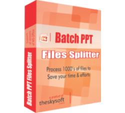 Batch PPT Files Splitter Coupons