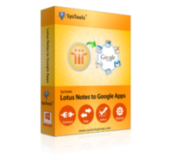 SysTools Lotus Notes to Google Apps Coupons