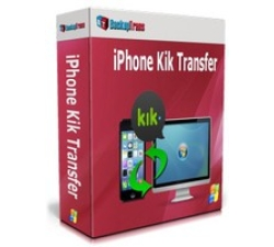 Backuptrans iPhone Kik Transfer (Personal Edition) Coupons
