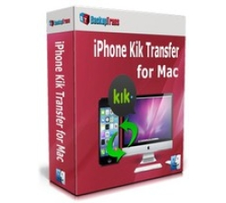 Backuptrans iPhone Kik Transfer for Mac (Personal Edition) Coupons