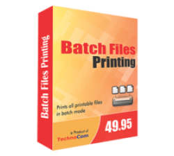 Batch Files Printing Coupons