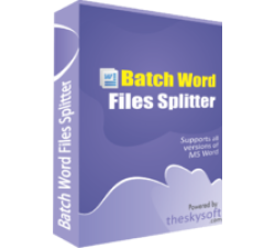 Batch Word Files Splitter Coupons