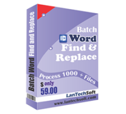 Batch Word Find & Replace Coupons