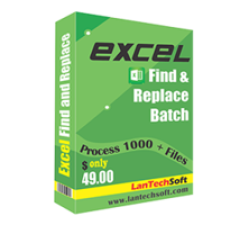 Excel Find and Replace Batch Coupons