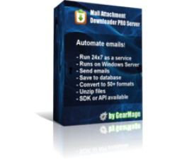 Mail Attachment Downloader PRO Server (3 License Pack) Coupons