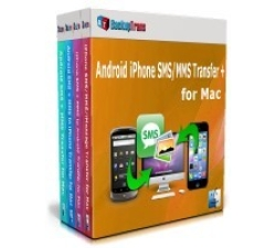 Backuptrans Android iPhone SMS/MMS Transfer + for Mac (Family Edition) Coupons