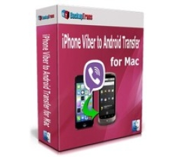 Backuptrans iPhone Viber to Android Transfer for Mac (Family Edition) Coupons