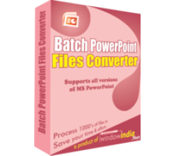 Batch PowerPoint File Converter Coupons