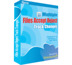 Multiple Files Accept & Reject Track Changes Coupons