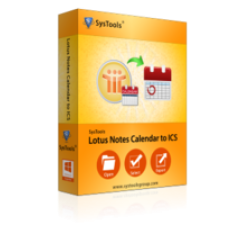 SysTools Lotus Notes Calendar to ICS Coupons
