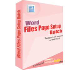 Word File Page Setup Batch Coupons