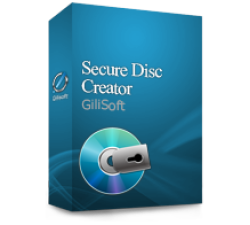 Gilisoft Secure Disc Creator  - 50 PC / Liftetime free update Coupons
