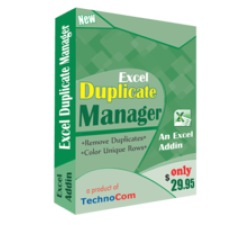 Execl Duplicate Manager Coupons