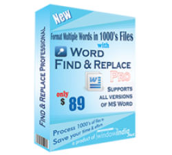 Word Find and Replace Professional Coupons
