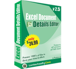 Excel Document Details Editor Coupons
