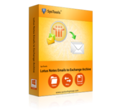 SysTools Lotus Notes Emails to Exchange Archive - Site License Coupons