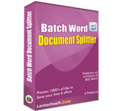 Batch Word Document Splitter Coupons