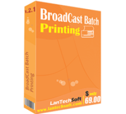 BroadCast Batch Printing Coupons