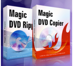 Magic DVD Ripper + DVD Copier (Full License + 1 Year Upgrades) Coupons