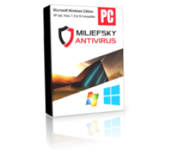 Miliefsky Antivirus for Windows for 5 PCs Annual Subscription Coupons