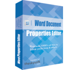 Word Document Properties Editor Coupons