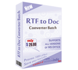 RTF TO DOC Converter Batch Coupons