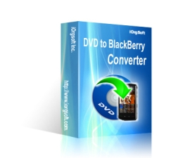 iOrgSoft DVD to BlackBerry Converter Coupons