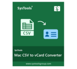 SysTools CSV to vCard for MAC Coupons