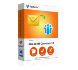SysTools MSG to NSF Converter Coupons