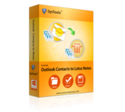 SysTools Outlook Contacts to Lotus Notes Coupons