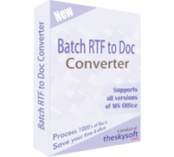 Batch RTF to Doc Converter Coupons