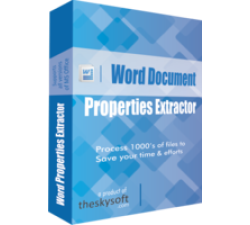 Word Document Properties Extractor Coupons
