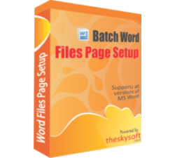 Batch Word Files Page Setup Coupons